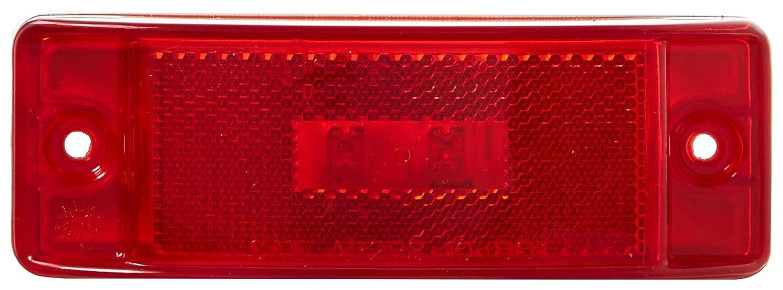Grote 47352 Red SuperNova Sealed Turtleback II LED Clearance Marker Light