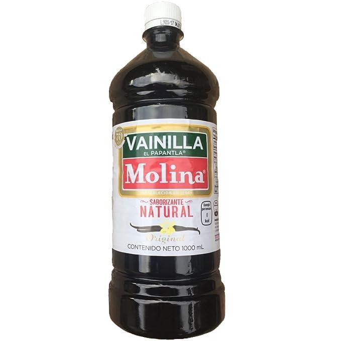 SABORIZANTE VAINILLA LIQUIDA NATURAL 1 litro VAINILLA MOLINA