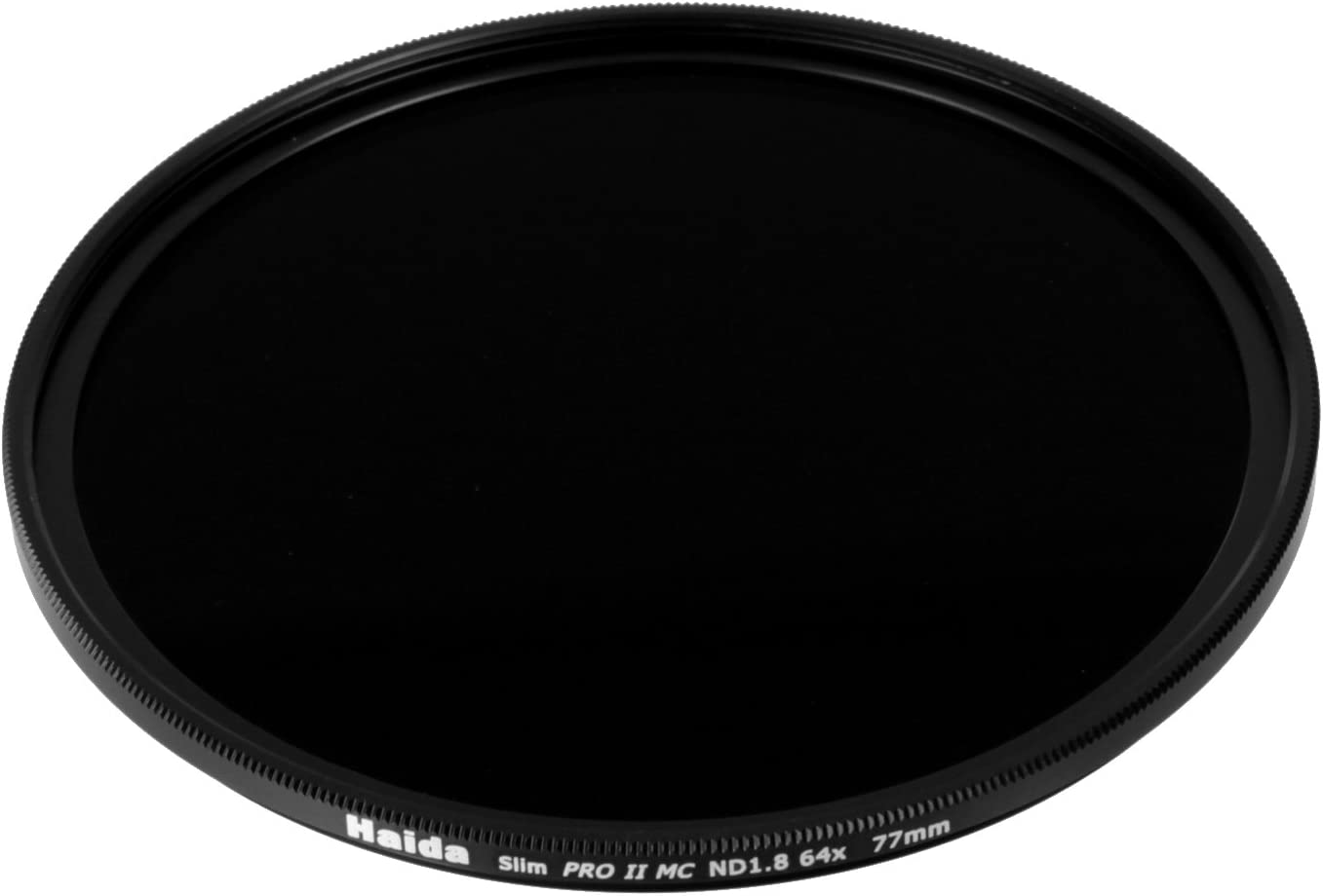 Haida 77mm Slim PROII ND64 Neutral Density Multi-Coated ND 6 Stop 1.8 64x Filter 77