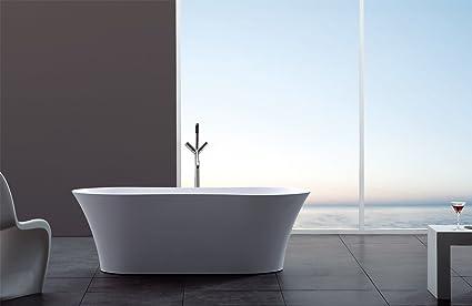 modern bathtub soaking bathtub freestanding bathtub solid rh amazon com modern bathtub mat modern bathtub design