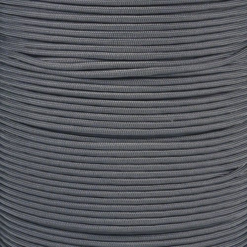 100 feet of paracord in grey - 2