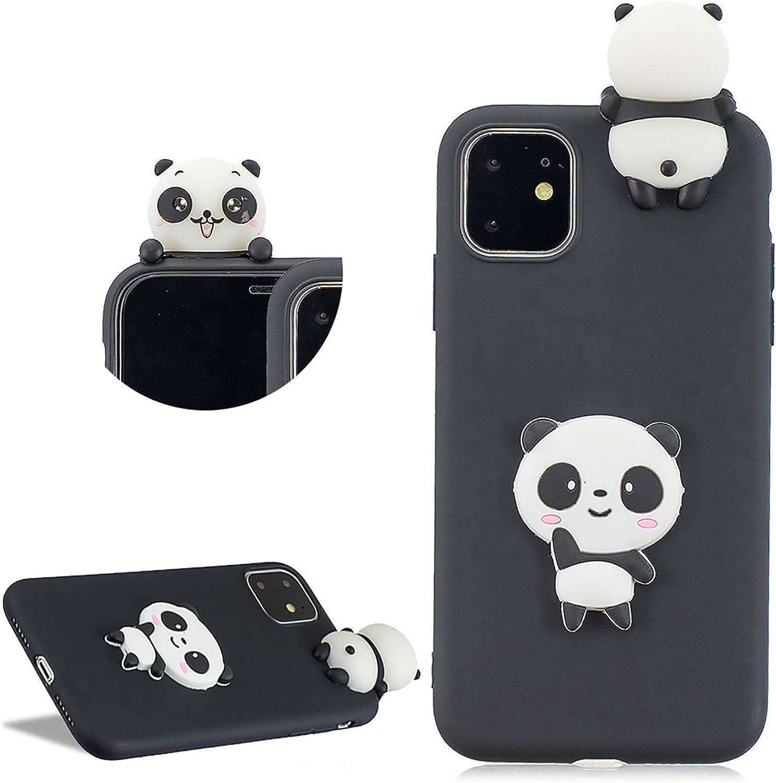 Daskan Panda 3d Karikatur Silikon Hülle Für Iphone 11 Elektronik