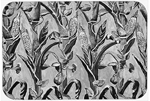 Carolines Treasures 8929CMT Corn Ironwork Fence Kitchen or Bath Mat 20x30 multicolor 20H x 30W