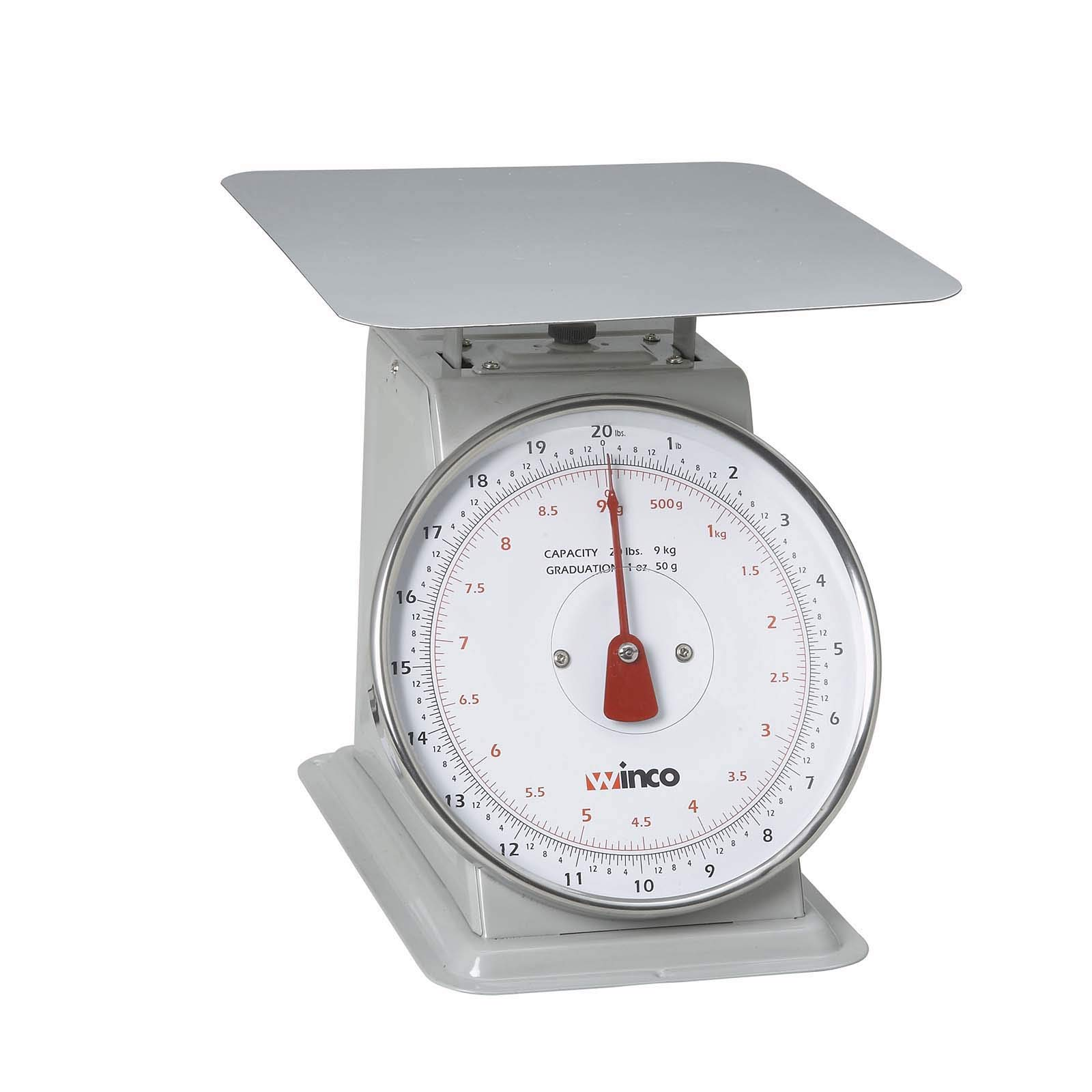 Winco SCAL-820 20-Pound/9.09kg Scale with 8-Inch Dial (Renewed) by Winco