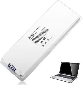 """A1185 Battery for Apple MacBook 13"""" A1181 X451 MA566 MA561 MA254 MB402 Ma254b/a Mb062x/a, Color White"""