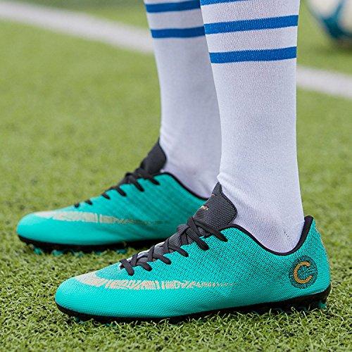 Training Calcio Blu Pregiata Uomo Mookey Lavorazione Antiscivolo Da Sportive Leggera Scarpe Accattivante 6ZwHqX