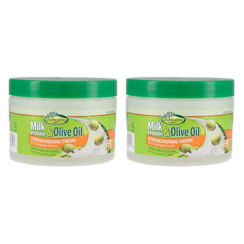 Amazon.com: SofnFree Milk Protein & Olive Oil Strengthening Creme (8.8 Oz) Pk Of 4: Beauty