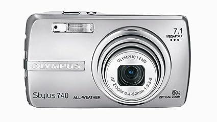 amazon com olympus stylus 740 7 1mp digital camera with digital rh amazon com Olympus Stylus 720 SW Charger Olympus Digital Camera