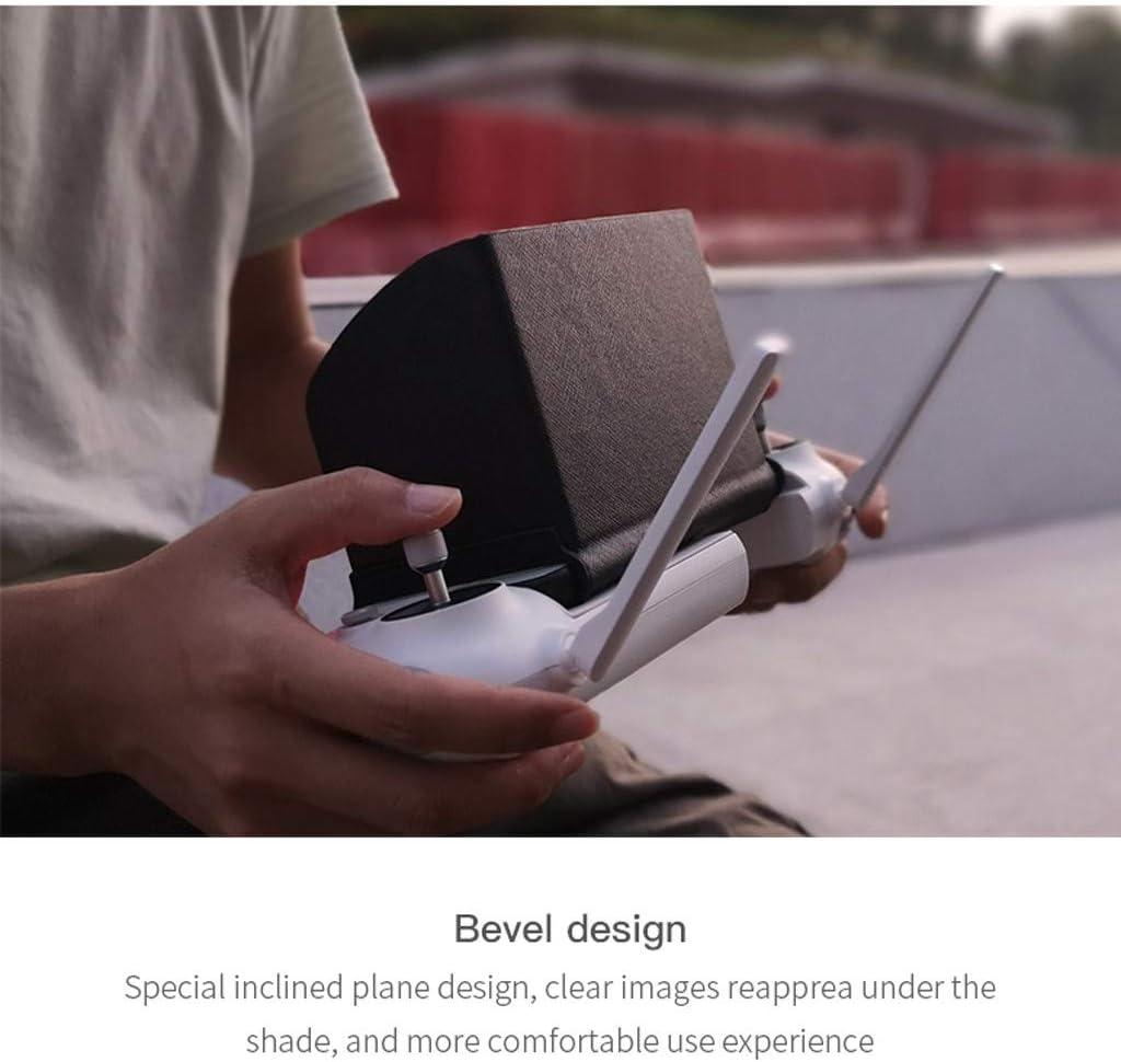 Alecony Fernbedienung Sonnenhaube Sonnenschirm Kompatibel mit FIMI X8 SE//DJI Mavic//Spark//Phantom 3 4 Drone Faltbare Sonnenschutz Telefon Schutz,Smartphone Abdeckung Abdeckhaube Sonnenblende
