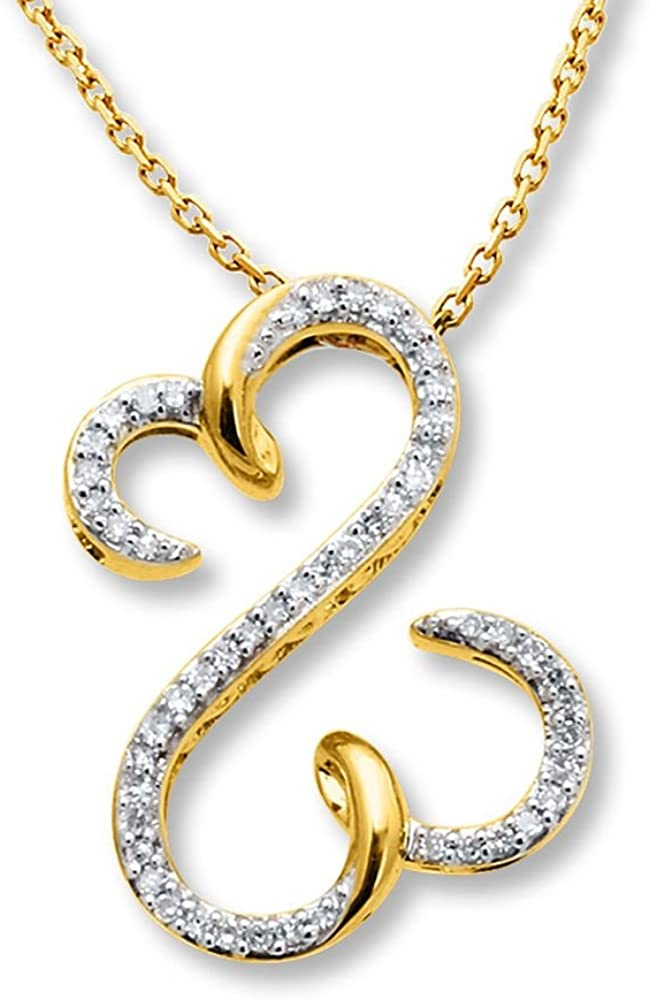 Sebastian//Swimming Pendant DiamondJewelryNY 14kt Gold Filled St
