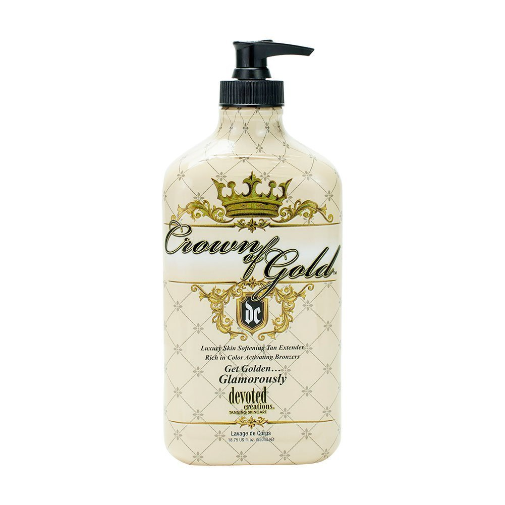 Devoted Creations Crown Of Gold - Luxury Skin Softening Hydrator 18.75 oz