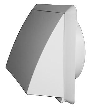 extractor con válvula antirretorno plástico dn 150 marrón rejilla ... - Extractor Bano Valvula Antirretorno
