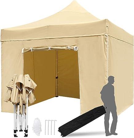 Amazon.com: TopCamp tienda de campaña con toldo desplegable ...