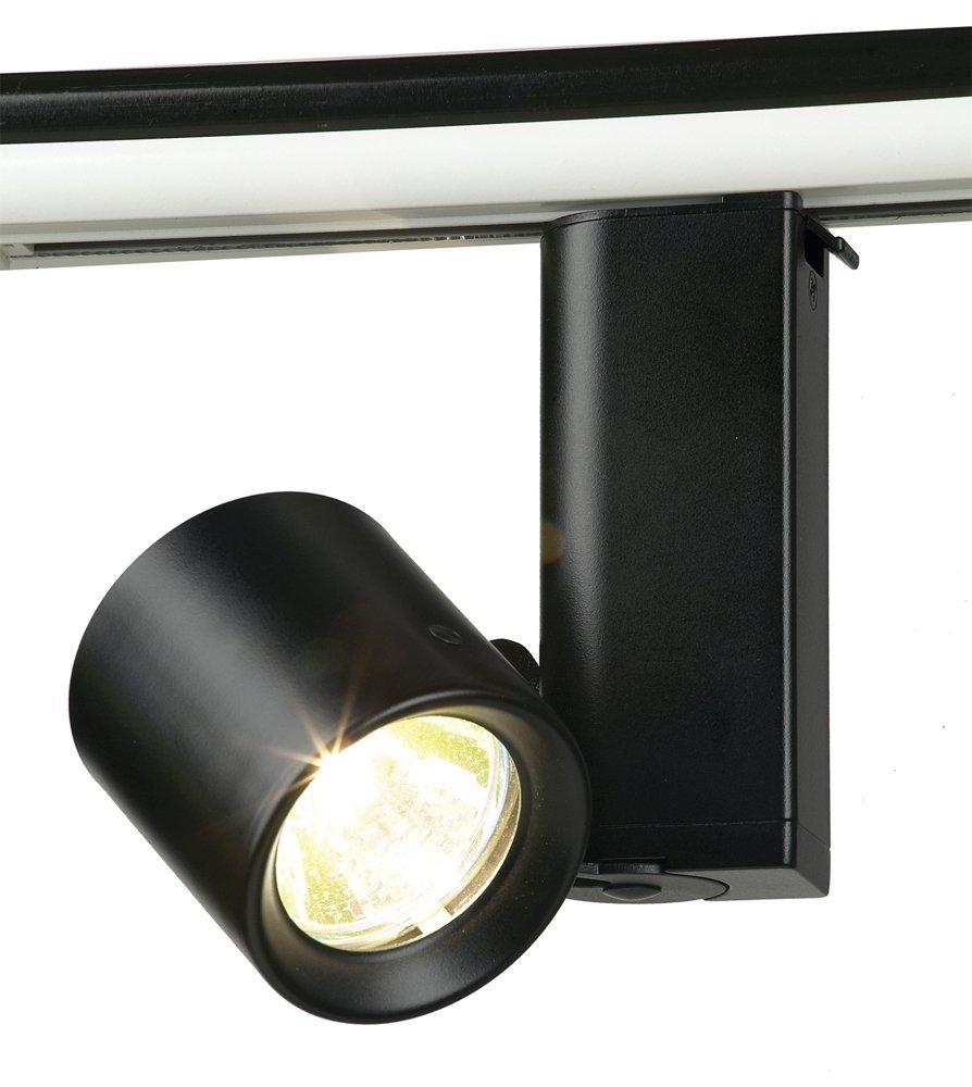 MiniForms MR16 Bi Pin Cylinder Track Light Finish: Black