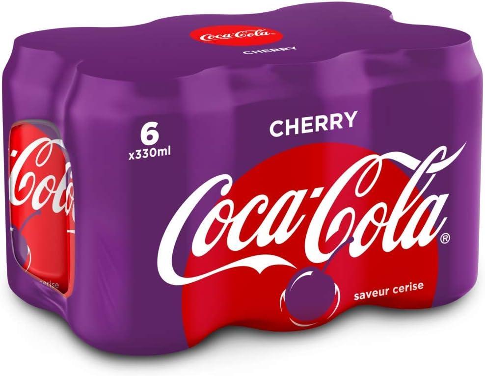 COCA COLA - COCA COLA Cherry 6x33cl: Amazon.es: Alimentación y bebidas