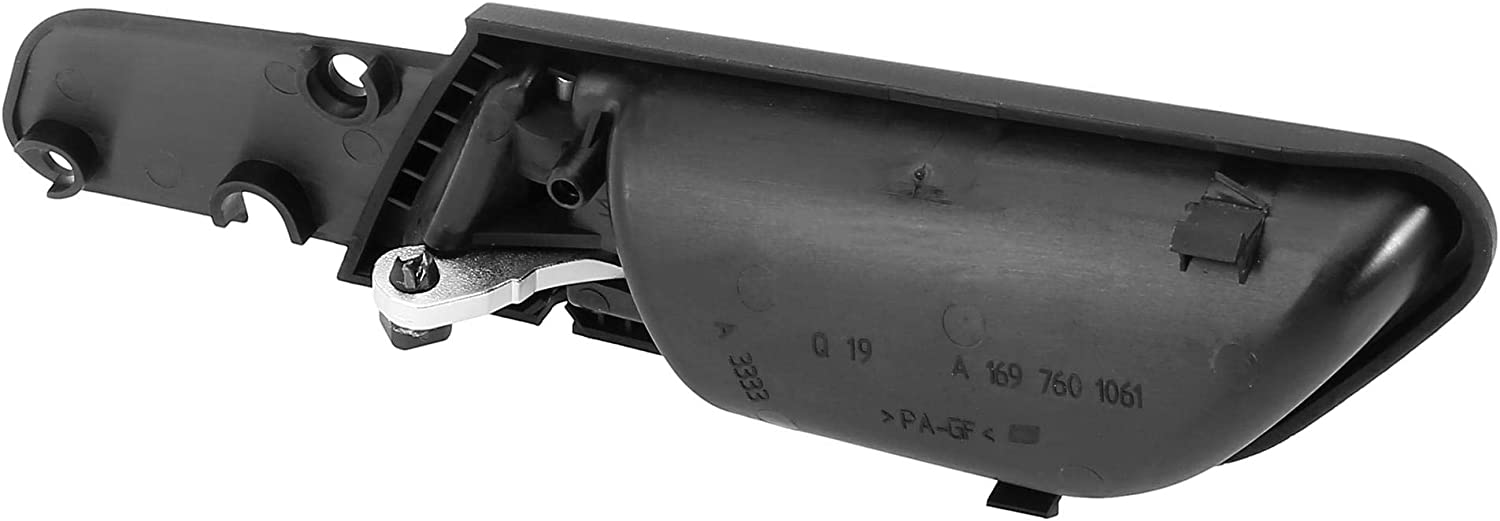 X AUTOHAUX Car Right Interior Door Handle Assembly A1697600961 for Mercedes-Benz A160 2010-2012