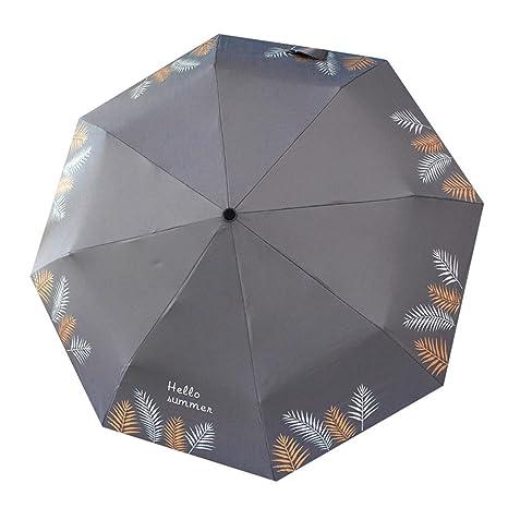 Paraguas pequeño y fresco Sen retro Paraguas femenino Paraguas doble y plegable para estudiante Doble uso
