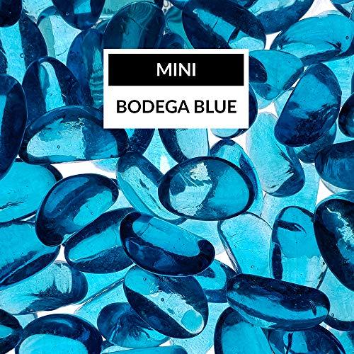 - Bond Manufacturing 67994 LavaGlass Mini Fire Pit Dispersion Glass, Bodega Blue
