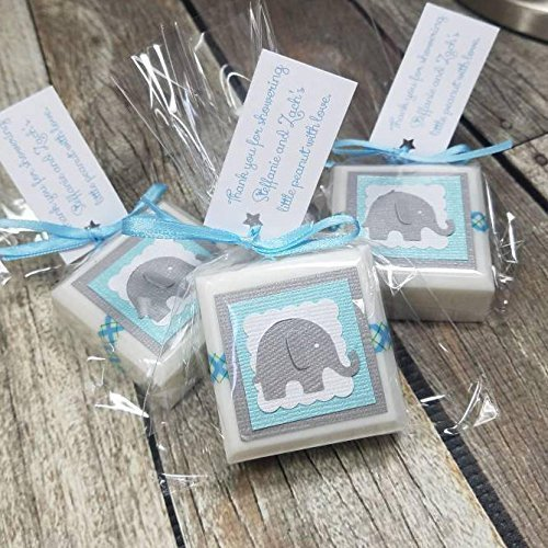 Amazon Com Soap Elephant Baby Shower Favors For Boy Handmade