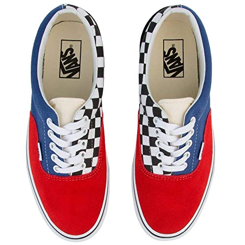 Vans Era Mix-Match Navy Red Mult 608a1ec641
