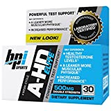BPI Sports A-HD Elite, Powerful Test Support, 500mg, 30 Count