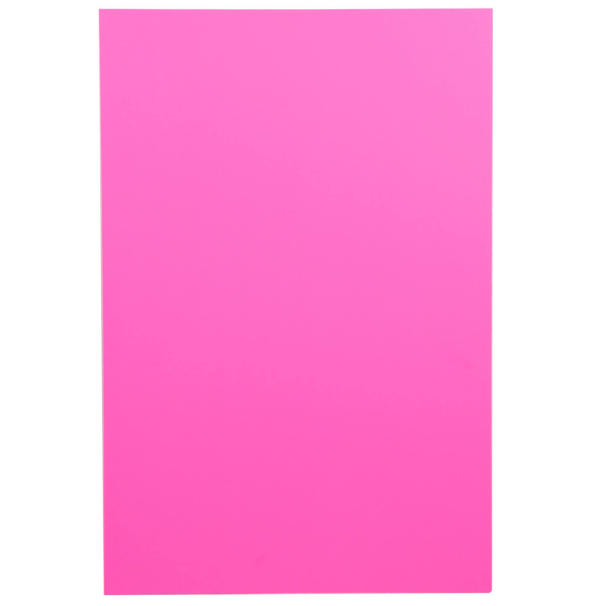 TableTop King 950040 20'' x 30'' Neon Pink Polystyrene Foam Board - 10/Case