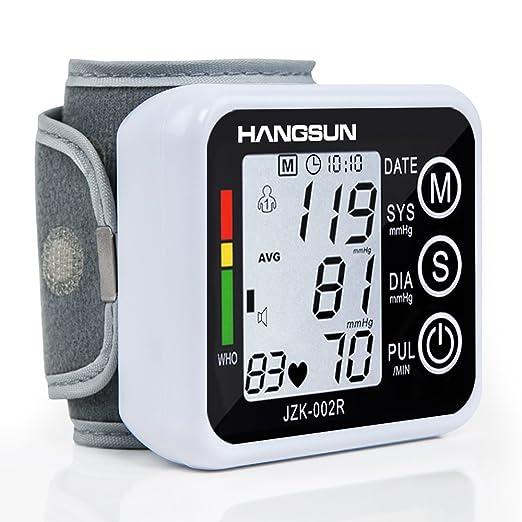 29 opinioni per Hangsun Elettronico Misuratore Di Pressione Da Polso BM90 Portatile Polsino