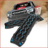 DEFEND INDUST Recovery Traction Tracks - 2PCS Off-Road Traction Boards Traction Mats Tire Ladder 4X4 and Tire Traction Tool f
