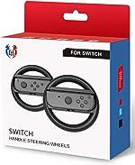 Steering Wheel for Nintendo Switch - Joy Con Wheel for Mario