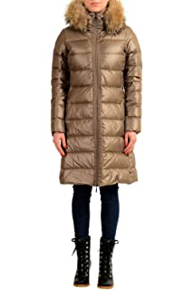 9d41a19e0 Amazon.com: Moncler Womens Tarier Padded Jacket Size 4 (XL): Clothing