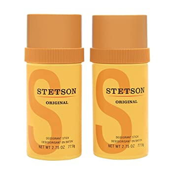 classic fit performance sportswear sale usa online Stetson by Coty for Men 2 x 2.75 oz Deodorant Stick: Amazon ...