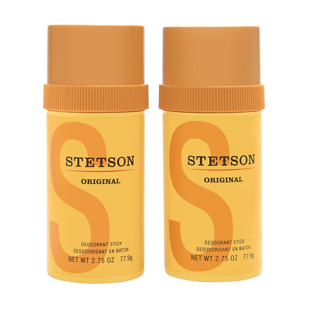 Stetson Stick Deodorant, 2.75 Fluid Ounce, 2-pack