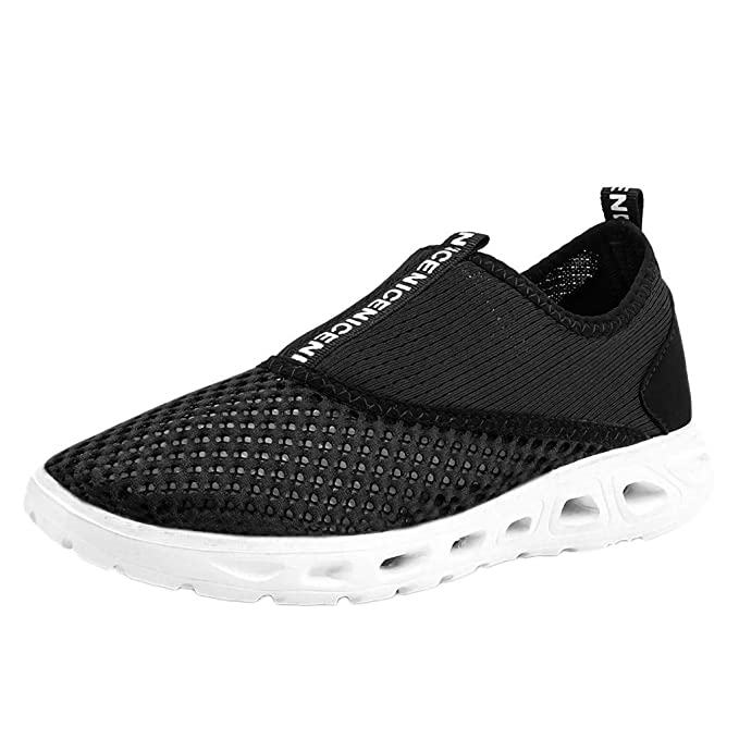 0d11cb3a3f6d6 Vibola Men's Sneakers Mesh Ultra Lightweight Hollow Breathable Shoes ...