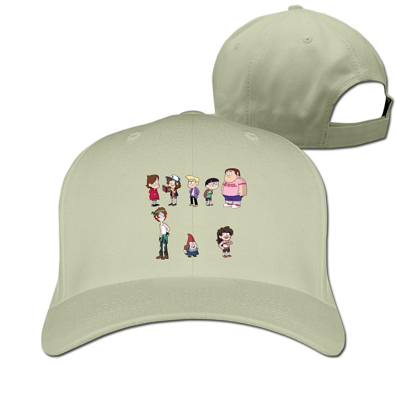 HNN Unisex Mysterious Town Family Peaked Baseball Caps Hats