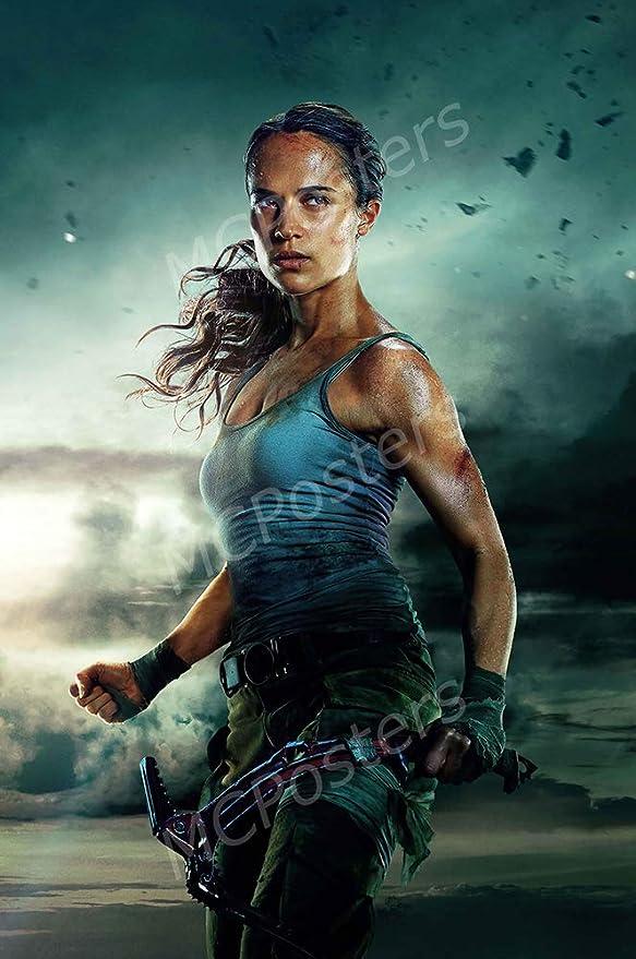 Amazon Com Mcposters Tomb Raider 2018 Textless Glossy Finish