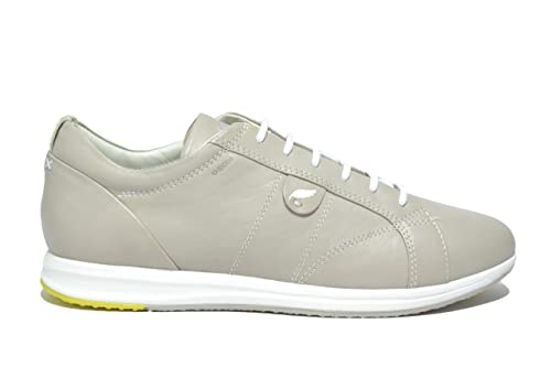 GEOX AVERY sneakers light grey scarpe donna mod. D52H5A