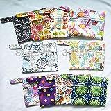 5/lot Mini/small Wet Bags Reusable for Mama Cloth Menstrual Pad Tampon, Baby Bib,wipes