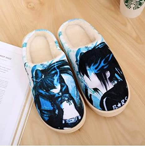 Zapatillas De Casa De Mujer,Zapatillas Clásicas Japonesas De Naruto Anime Lovers Zapatillas De Piso Ligeramente Transpirables para Mujer Zapatillas De Fondo Suave para El Hogar Zapatos De Tela D: Amazon.es: Deportes y