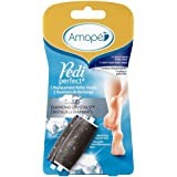 Amopé Pedi Perfect Electronic Foot File Mixed Refills, 2 Count, Regular & Extra Coarse