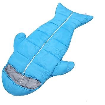 LJHA shuidai Saco de Dormir Momia/Impermeable/Niños Acampar al Aire Libre Espesar Saco