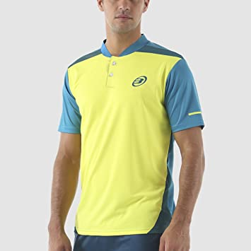 CAMISETA BULLPADEL TERMINI AMARILLO LIMÓN FLÚOR: Amazon.es ...