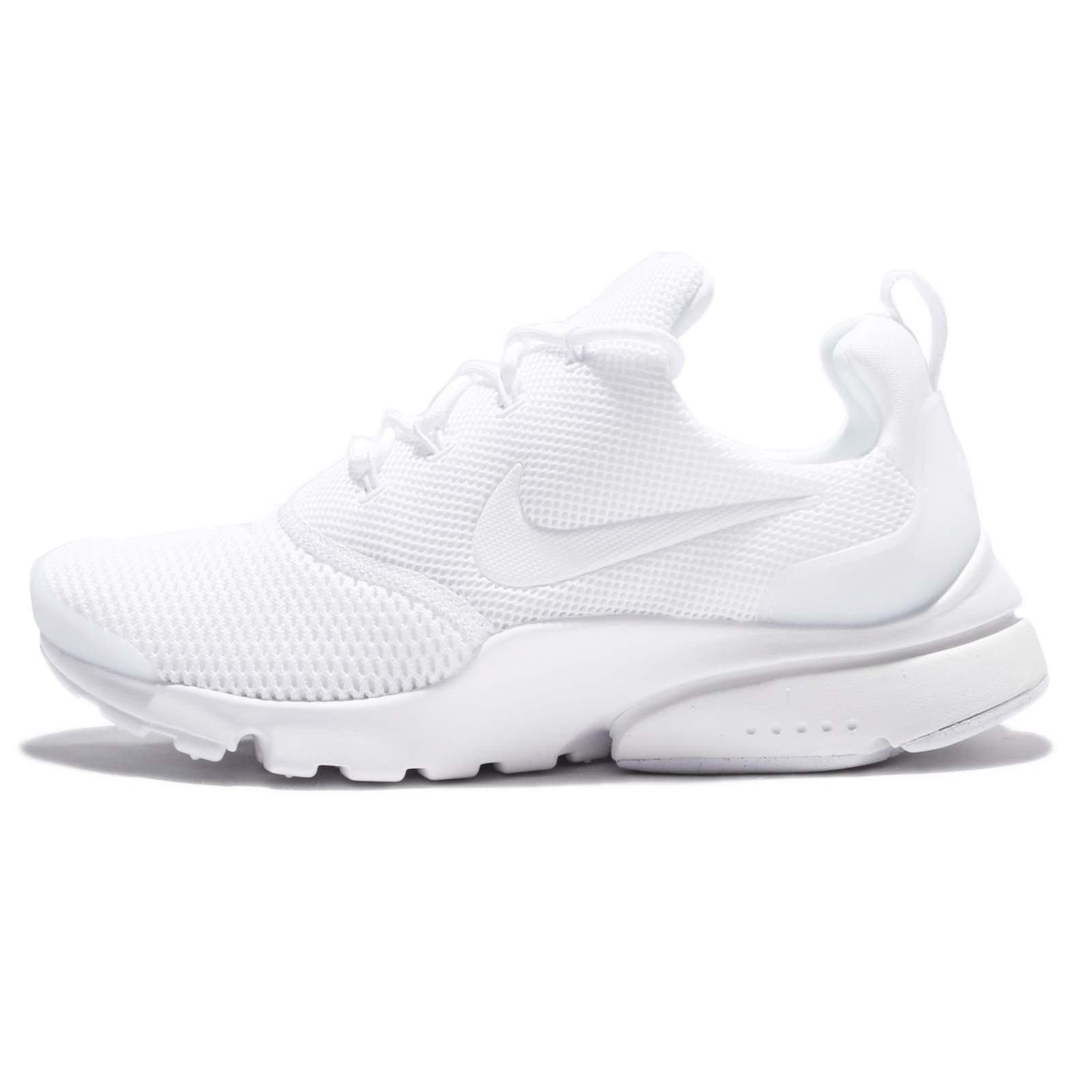 Nike Women\u0027s Presto Fly White/White,White Ankle,High Running Shoe , 10M