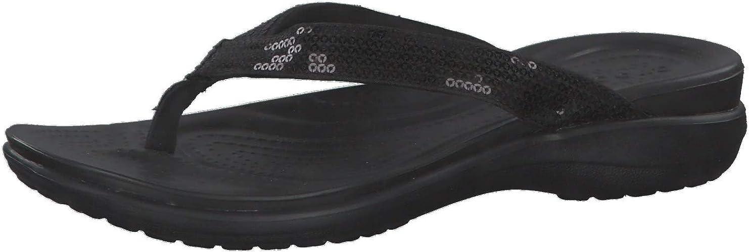 Chaussures de Plage /& Piscine Femme Crocs Capri Strappy Flip W