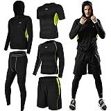 (シーヤ) Seeya コンプレッションウェア セット スポーツウェア メンズ 長袖 半袖 冬 上下 セット 6カラー トレーニング ランニング 吸汗 速乾