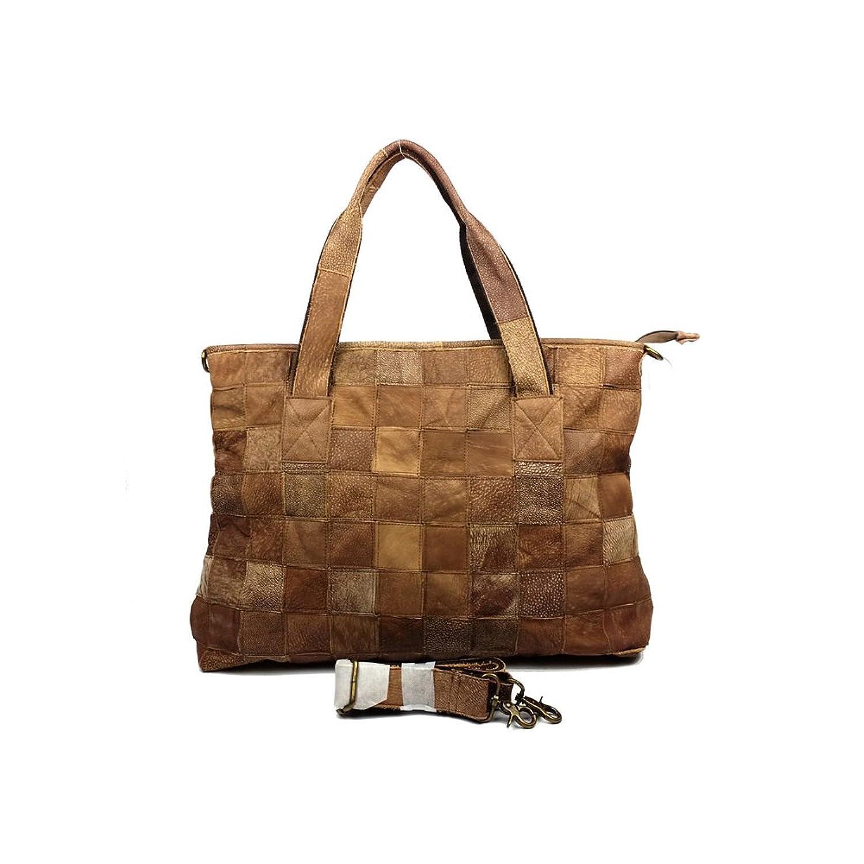 BENNINGCO Womens Mosaic Single Shoulder Big Bag Shopping Travelling Bag
