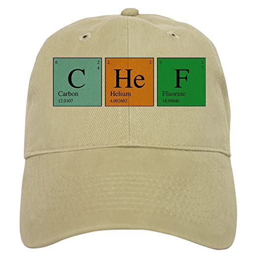 cb31dbed961 CafePress - Chemist Chef Cap - Baseball Cap with Adjustable Closure
