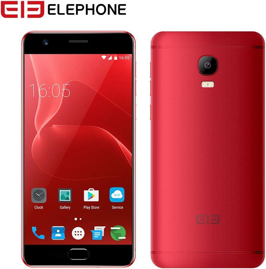 yunt 5,5 4 G Dual SIM Elephone P8 Max LTE Smartphone Android 7,0 Sistema | Octa Core 4 G Dual SIM Smartphone, 4 GB de RAM + 64 GB ROM | 5000