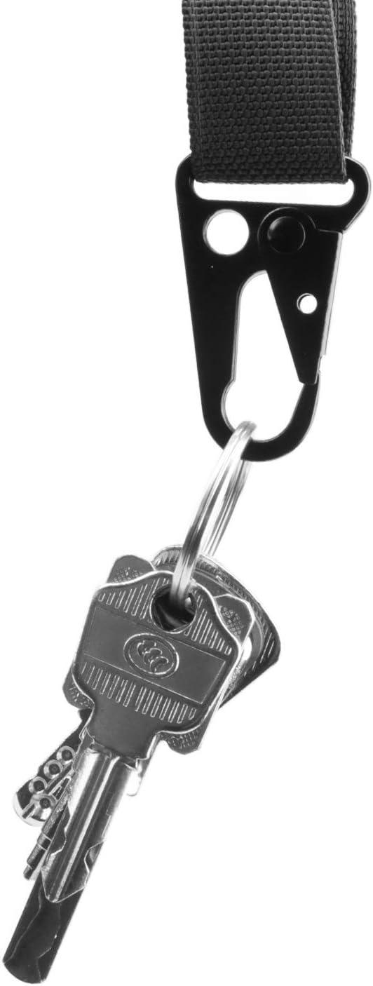 JETEDC Enlarged HK Clips Hooks for Paracord Sling Outdoors Bag Backpack