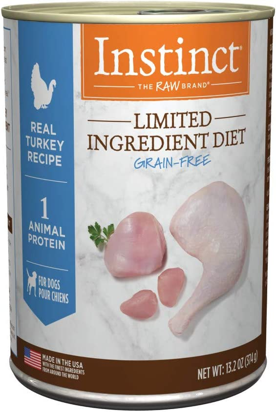 Instinct Limited Ingredient Diet Grain Free Recipe Natural Wet Canned Dog Food