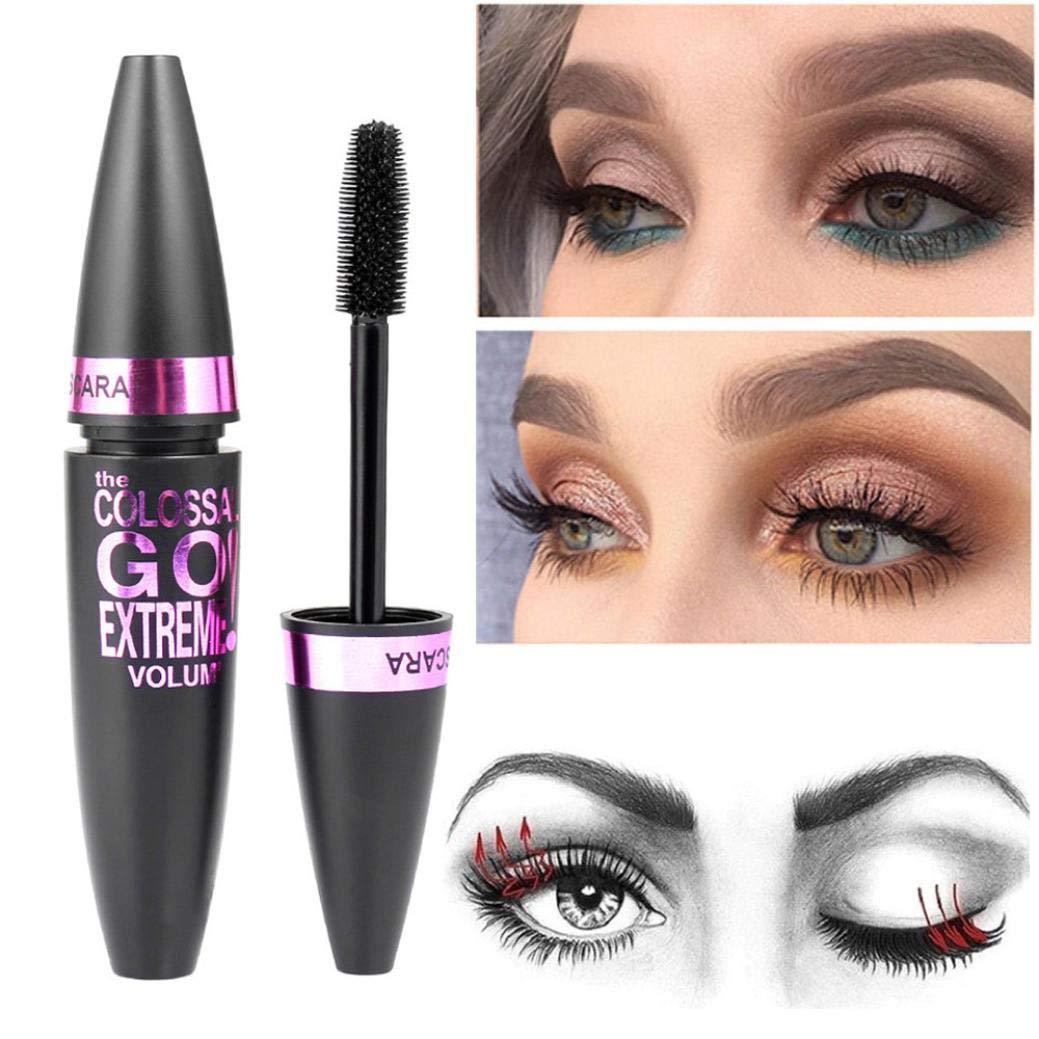 ❤JPJ(TM)❤️_Hot sale 1PC New Creative Cosmetic Black Mascara Makeup Eyelash Waterproof Extension Curling Eye Lashes (Black)